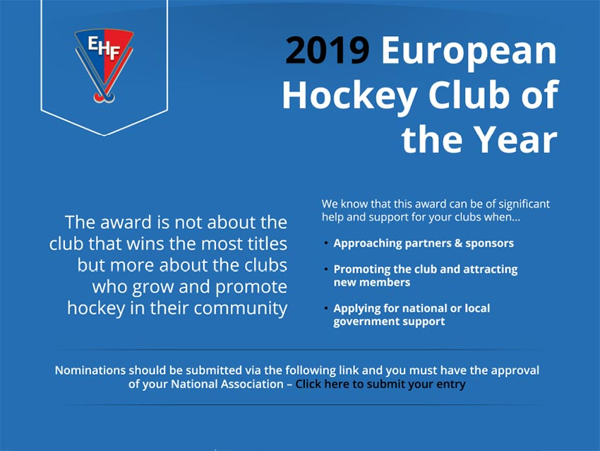 European Club of the Year Award / nomination